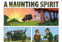 COMICs - KORHELYHAJHÁSZAT - A HAUNTING SPIRIT / 2011 The best short graphic novel of Hungary