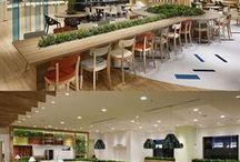 Arquitetura | Praças de Alimentação / Referência de Praças de Alimentação - Centros Comerciais  - Projetos, móveis e equipamentos, revestimentos, restaurantes...