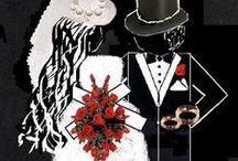 Weddings / Wedding Art; Graphics, Tips / by Chapel Flock