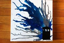 Doctor Who Stuff / A board of whovian products, cast pictures, art, and quotes....GREAT TIME WASTER / by Hannah
