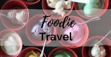 Foodie Travel Inspiration / Delicious foods, sweet treats, afternoon teas, cafes and restaurants you need to try out when you travel!