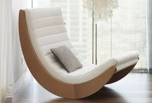 Tables, Chairs, benches, stools and lounges / Anything you can sit on / by Julie Huang