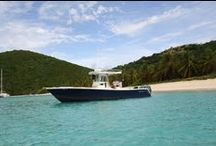 Powerboat Charter St. John USVI / Boat Trips in the beautiful Virgin Islands