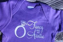 Aunt Tees / An assortment of Shirts just for the Auntie :)