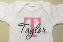Pretty PINK Baby / A collection of tees and gifts for the baby in PINK!