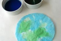 Earth Day for Preschoolers / Great ideas for those who teach our youngest friends about Earth Day