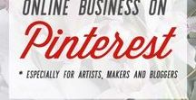 pinterest for creative entrepreneurs. / pinterest for creative entrepreneurs. learn how to use pinterest to promote your art, blog, or other creatives business. pinterest marketing. using pinterest to drive traffic. pinterest for bloggers.