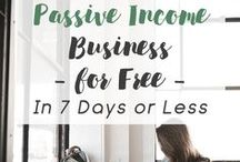 creative passive income. / Tips for creatives who want to make money passively. Passive Income ideas. Passive income for creatives, artists, and makers. Affiliate marketing for bloggers. Print on demand for artists. drop shipping business ideas.