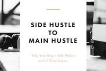side hustler / Ways to make money on the side (a.k.a. a side hustle), while still working a full-time job, full-time parenting, or running a business.