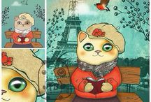 FallenBrick Illustrations / Маленькие художества, длинною в жизнь