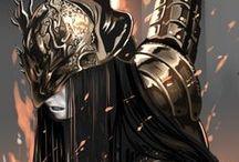 [Inspiration] Shogau / The Golden Knight. Milady's lover.