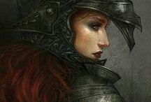 [Inspiration] Raya / The Mercenary from Desert.
