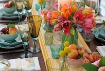 Tablescapes / by Stems Flower Shop Dore Huss