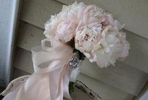Pink Flower Bouquets / wedding bouquets / by Stems Flower Shop Dore Huss