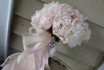 Pink Flower Bouquets / wedding bouquets / by Stems Flower Shop Dore Huss