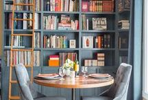 Reading rooms / Places to relax with a good book