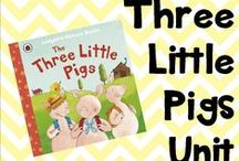 Three Little Pigs Unit / three little pigs, farm ideas and activities