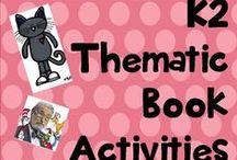 k 2 thematic book activities
