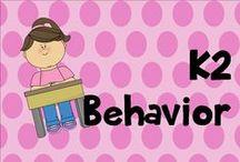 K 2 behavior / behavior modification ideas, strategies
