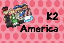 K 2 america / America lessons and activities
