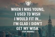Inspiration & Motivation / Inspiration & Motivation quotes by Steve Maraboli
