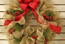 Centerpieces and Wreaths / Centerpieces and wreaths that could be used as centerpieces. / by Charlotte Pickney