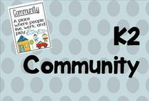 k 2 community / Community workers and places