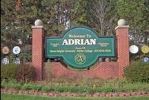 Adrian, Michigan / Maple City / by Charlotte Pickney
