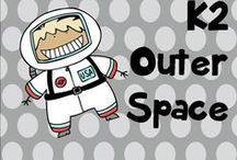 K 2 outer space / Space activities and ideas