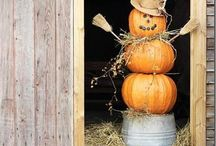 Pumpkin Patch and Bake Sale ideas / We are having a pumpkin patch and bake sale at work the week of Halloween! Need decorating ideas!