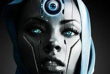 Futuristic / Futuristic design and influences, space travel, science fiction, steampunk, dieselpunk, afropunk, new technologies, afro-futurism, retro-futurism, future cities, digital design