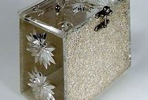 Vintage Accessories / Vintage lucite handbags and other items