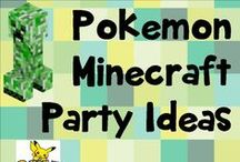 Pokemon mine craft party time! / Party ideas