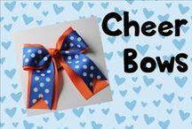 Cheer bows / Hair bows