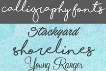 Fonts / Interesting fonts to use