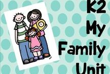 K 2 my family unit / All about my family
