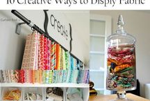 Craft Room and Supply Storage / Inspiration to create the perfect craft room or creative space. Oodles of ideas for craft supply storage.