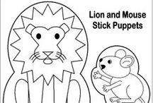 The Lion and the Mouse / Moral of Aesops Fable: Little friends may prove great friends
