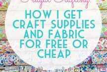 Craft Supplies / Craft supplies I love or would like to try