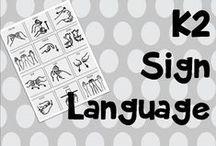 K2 sign language / Asl