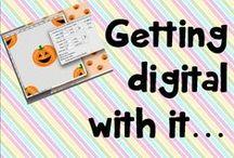 Getting digital with it... / Digital scrapbooking