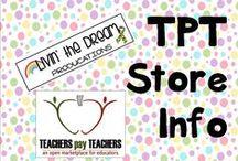 TPT Store Info