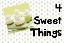 4 Sweet things! / Sweets and desserts