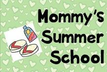 Mommy's Summer School / 3rd and 5th grade work
