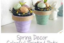 All Things Spring / Crafts, decor, recipes, and tips for everything during spring.