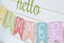 All Things Summer / Activities, crafts, recipes, and decor for summertime.