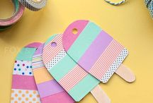 Washi Tape Crafts / Crafts using Washi Tape