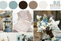 Wedding Ideas / Wedding Dec 28, 2012 Winter wedding. Colors: Chocolate Brown, with a icy aqua blue and dark teal. Snowflakes with pinecones.... / by Susannah Jackson