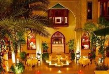 Morocco Hotels / A gallery of the most beautiful hotels in Morocco - get ideas and inspiration for a luxury trip to Morocco!