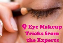 EYES / Eye shadow eye liner and eyebrow tips and tricks! / by Ashalee Rey